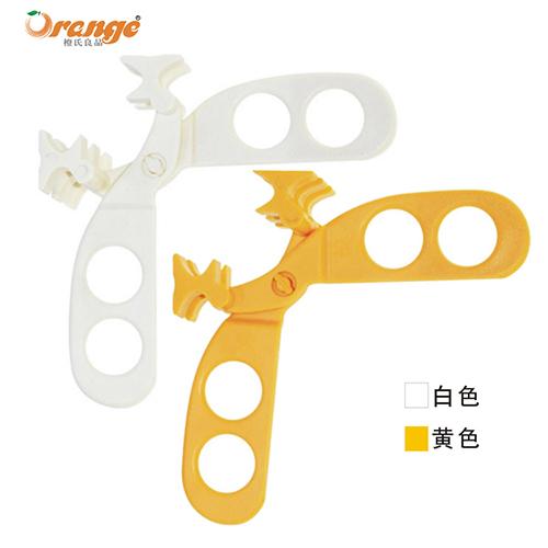 天意橙氏良品宝宝辅食研磨器/食物剪--白色