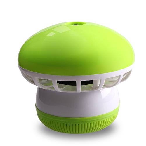 盼超超静音吸入式光触媒灭蚊灯 开关式--绿色(4灯)