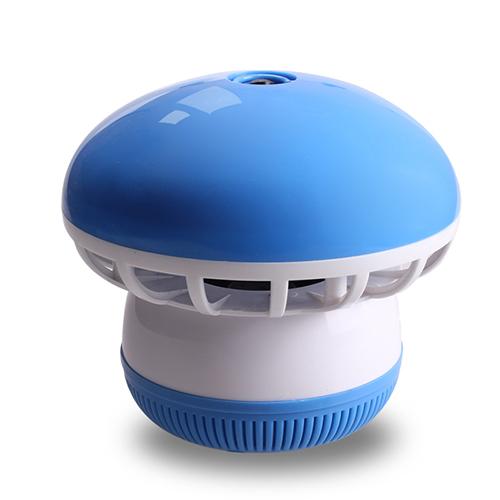 盼超超静音吸入式光触媒灭蚊灯 开关式--蓝色(4灯)