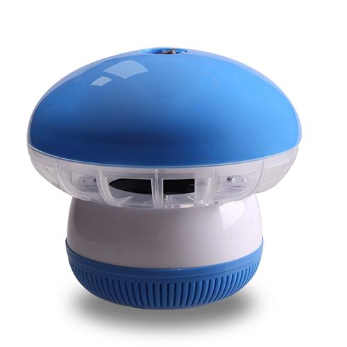 盼超超静音吸入式光触媒灭蚊灯 光控式--蓝色(12灯)