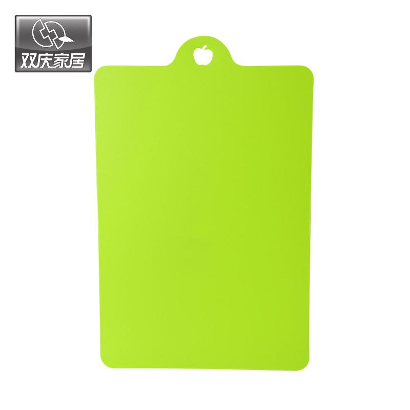 双庆可悬挂厨房分类抗菌菜板砧板 单片装(7028)