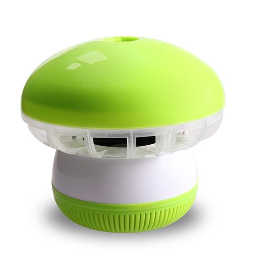 盼超超静音吸入式光触媒灭蚊灯 光控式--绿色(12灯)