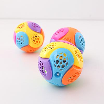兒童益智電動閃光音樂跳舞球玩具