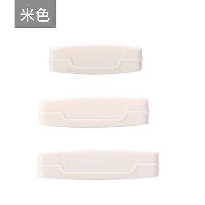 手动挤牙膏器 洗面奶挤压器三件套--米色
