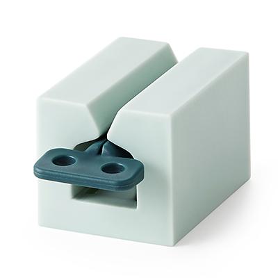 滚动式挤牙膏器 多功能挤压器--浅蓝色