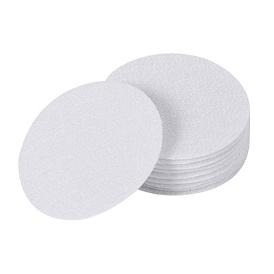 沙发无痕双面固定圆形魔术贴床单防滑固定器--白色53mm(5片装)