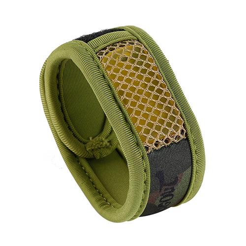 BUGOUT实用户外驱蚊手环家用防蚊手环魔术腕带-军绿迷彩