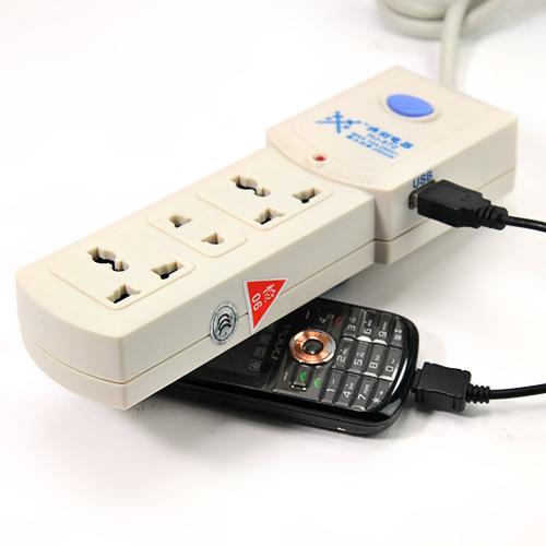 商品名称: 洪剑带usb接口接线板/多功能插座/插排(hj-572)