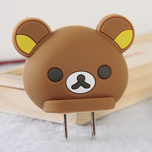 商品名称:可爱卡通usb充电器插头--棕熊