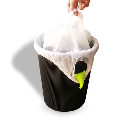 创意小象长鼻垃圾桶夹子