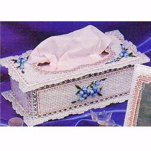 妙恋立体十字绣宫廷长方形纸巾盒(b-48)