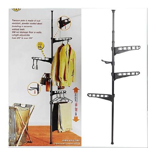 钢管衣架安装步骤图