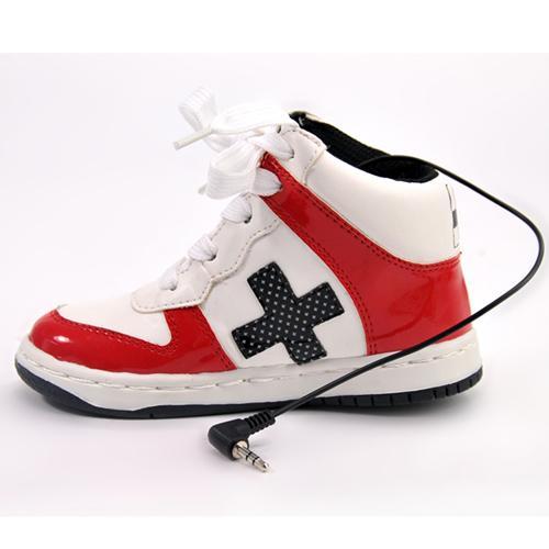 商品名称:创意可爱运动鞋便携式迷你音箱/鞋子音响