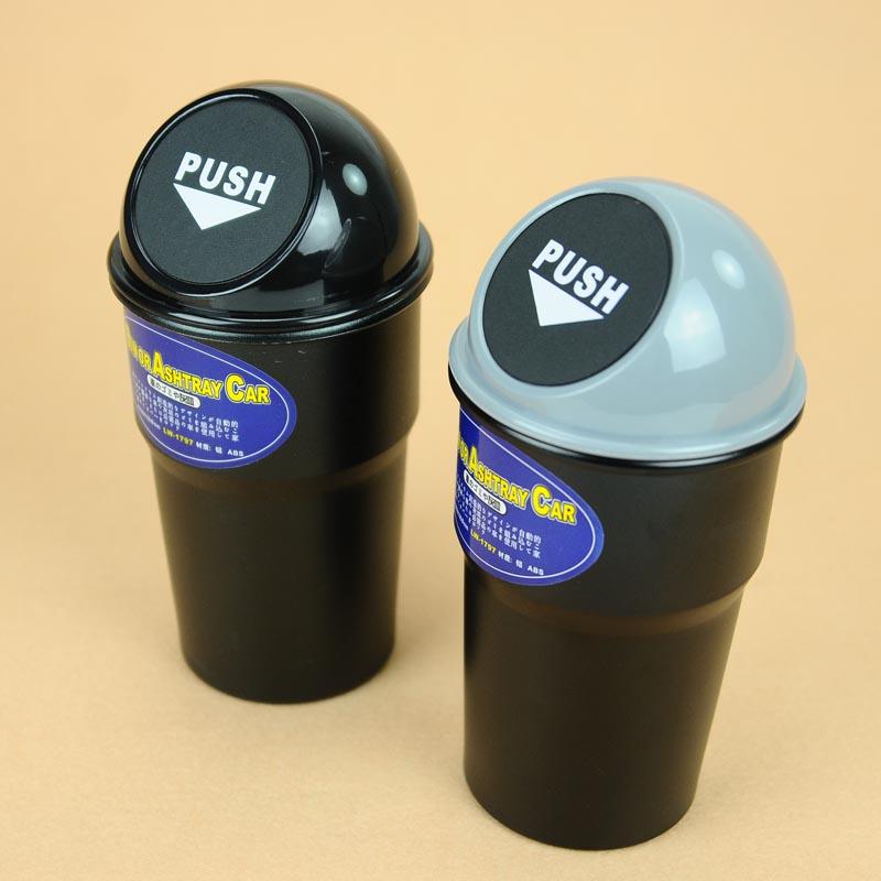 商品名称:大号车用弹盖环保垃圾桶/轻便杂物桶