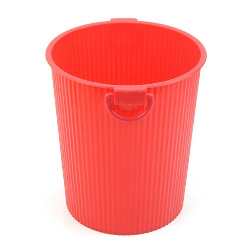炫彩糖果色创意家用垃圾桶/杂物桶--红色