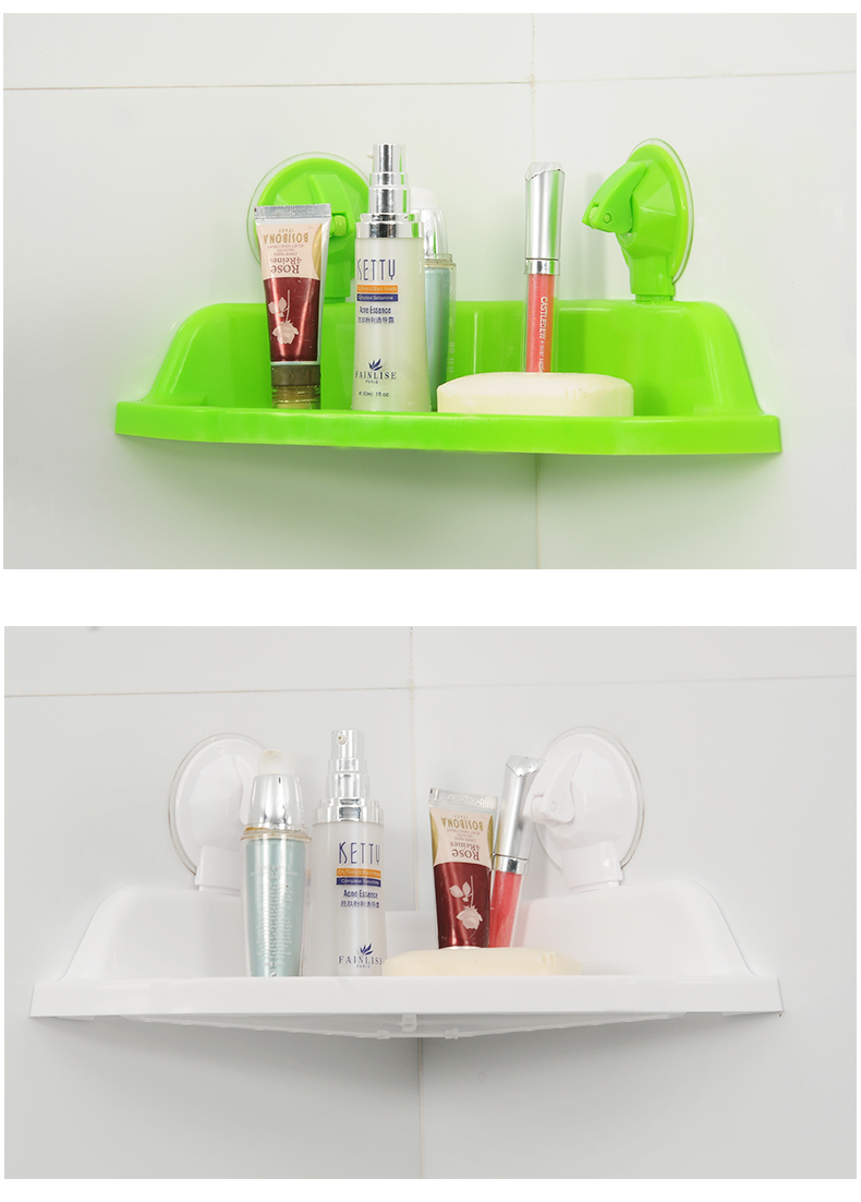Suction Cup Bathroom Shelves White Lazada Malaysia